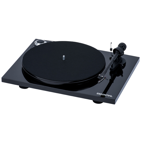 Виниловый проигрыватель Pro-Ject Essential III Phono Piano Black (OM-10) акустика центрального канала paradigm studio cc 490 v 5 piano black