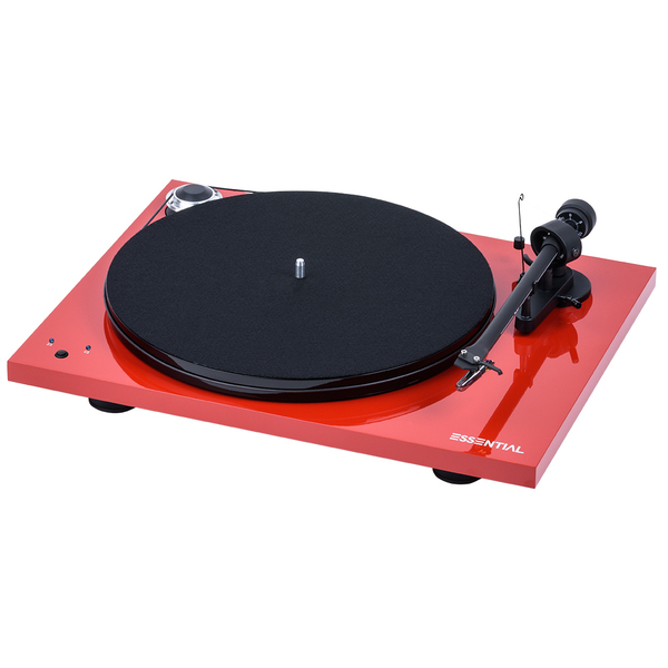 Виниловый проигрыватель Pro-Ject Essential III RecordMaster Red (OM-10) pro ject vt e r red om 5e