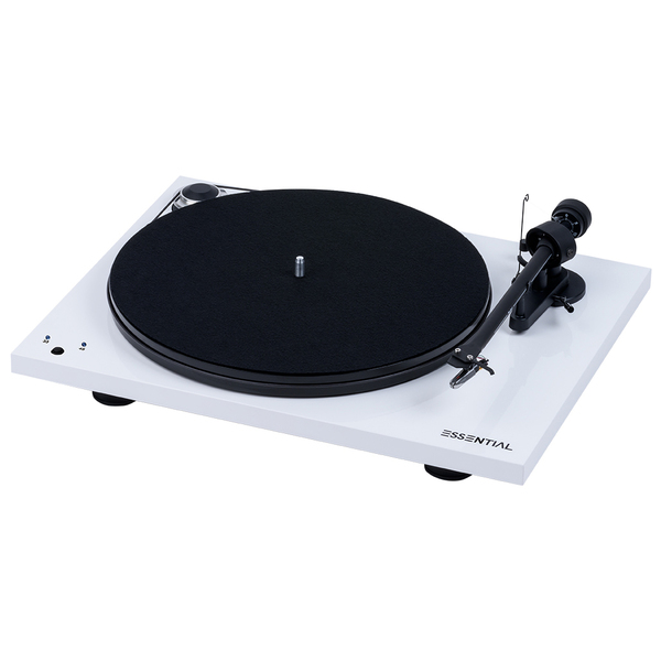 Виниловый проигрыватель Pro-Ject Essential III RecordMaster White (OM-10) виниловый проигрыватель pro ject the classic walnut 2m silver