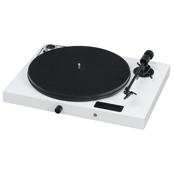 Виниловый проигрыватель Pro-Ject Juke Box E White (OM-5e) усилитель pro ject mm mc record box e white