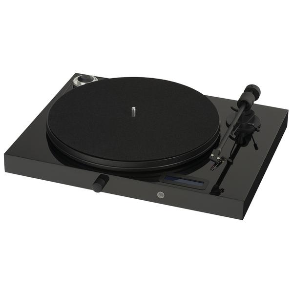 Виниловый проигрыватель Pro-Ject Juke Box E Piano Black (OM-5e) (уценённый товар)