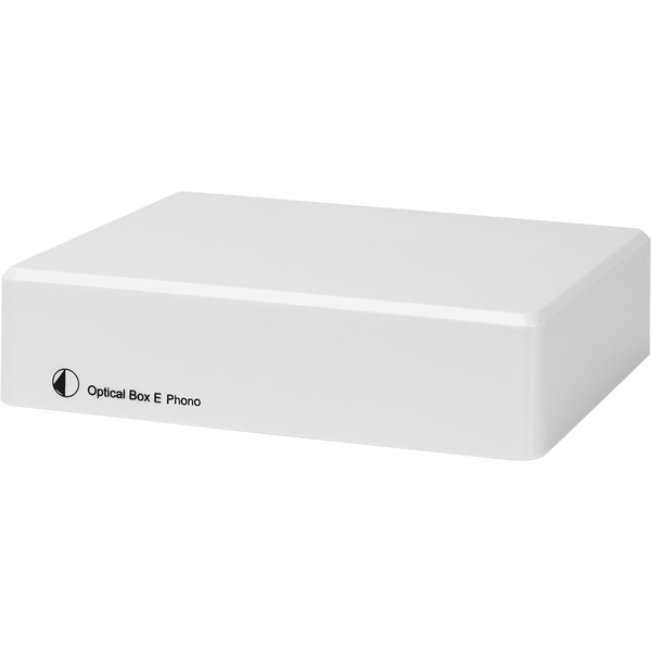 Фонокорректор Pro-Ject Optical Box E Phono White фото