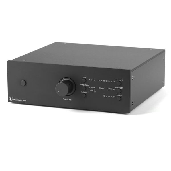 Фонокорректор Pro-Ject Phono Box DS2 USB Black pro ject dac box s usb black