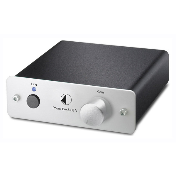 Phono Box USB V Silver