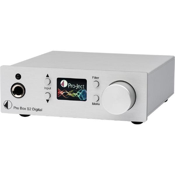 Внешний ЦАП Pro-Ject Pre Box S2 Digital Silver (уценённый товар)