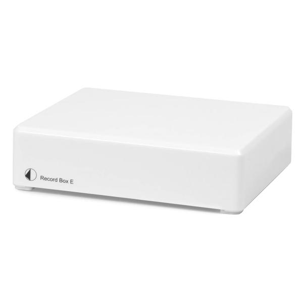 Фонокорректор Pro-Ject Record Box E White усилитель pro ject mm mc record box e white