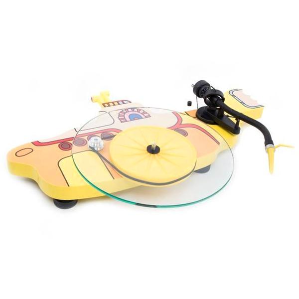 Виниловый проигрыватель Pro-Ject The Beatles Yellow Submarine (Ortofon Sonar) цена 2017
