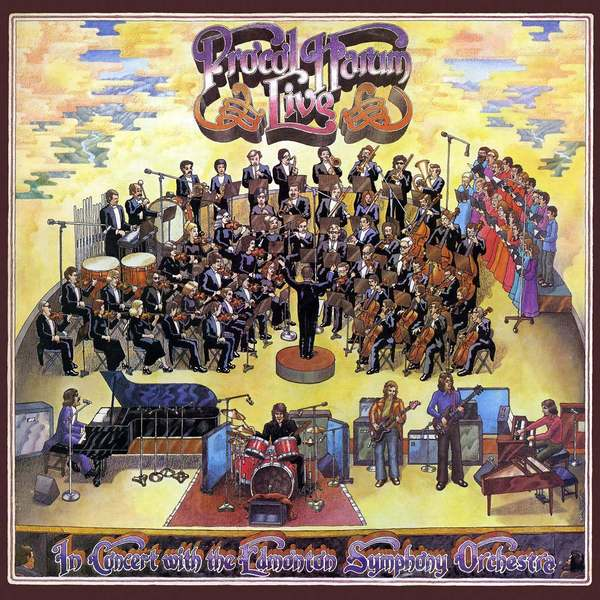 Procol Harum Procol Harum - Live In Concert With The Edmonton Symphony (2 Lp, Colour) procol harum procol harum in concert 2 lp 180 gr