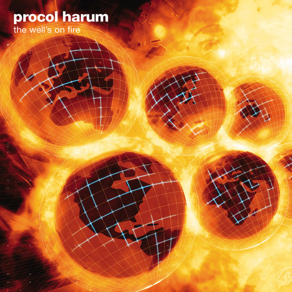 Procol Harum Procol Harum - Well's On Fire (2 Lp, Colour) procol harum procol harum live in concert with the edmonton symphony 2 lp colour
