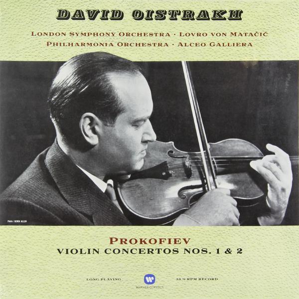 Prokofiev Prokofiev - Violin Concertos Nos. 1 2 bach bach violin concertos nos 1 2 180 gr