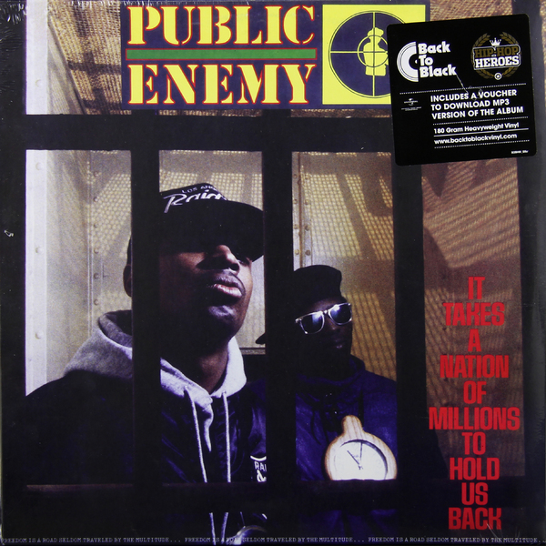 Public Enemy - It Takes A Nation Of Millions To Hold Us Back (180 Gr)