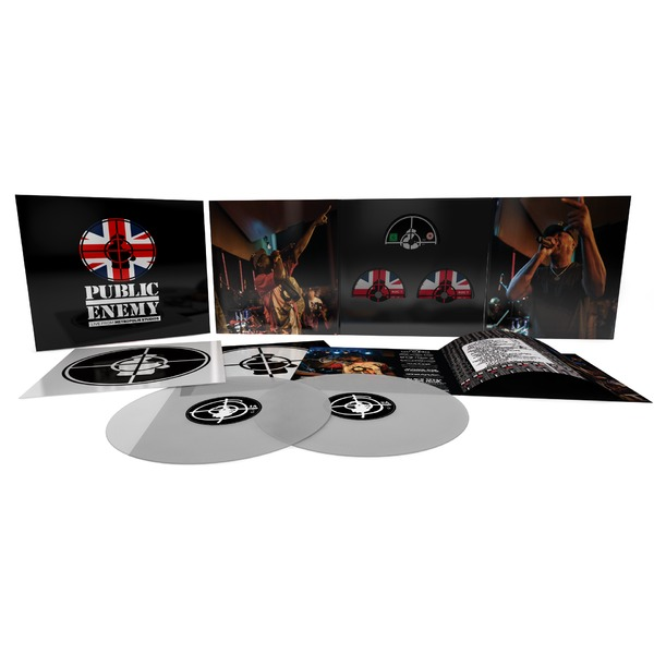 Public Enemy Public Enemy - Live At Metropolis Studios (2 Lp+2 Cd+br) crystal lux jewel ap1 gray
