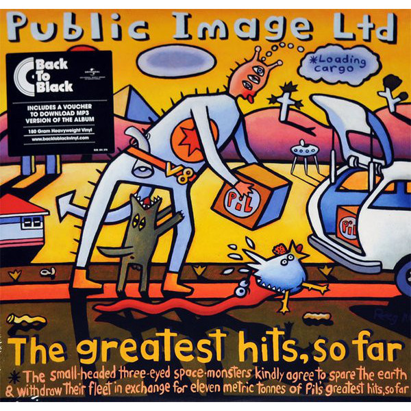 Public Image Limited Public Image Limited - The Greatest Hits… So Far (2 LP) mirror image
