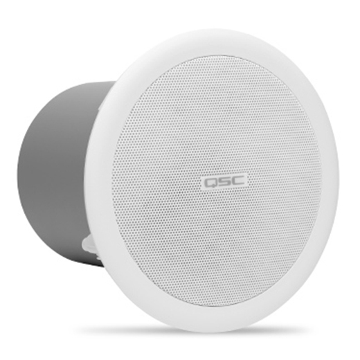 Встраиваемая акустика трансформаторная QSC AC-C2T White 2 gang wall mount light touch screen power switch plate cover white ac 100 250v