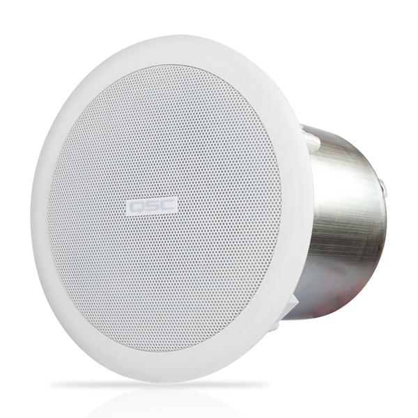 Встраиваемая акустика трансформаторная QSC AC-C4T White встраиваемая акустика трансформаторная apart cm6tsmf white
