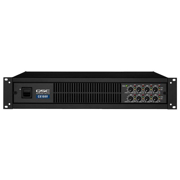 Трансляционный усилитель QSC CX108V профессиональный усилитель мощности qsc rmx850