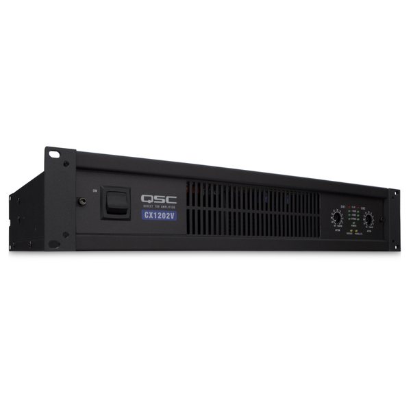 Профессиональный усилитель мощности QSC CX1202V профессиональный усилитель мощности eurosound xz 1200
