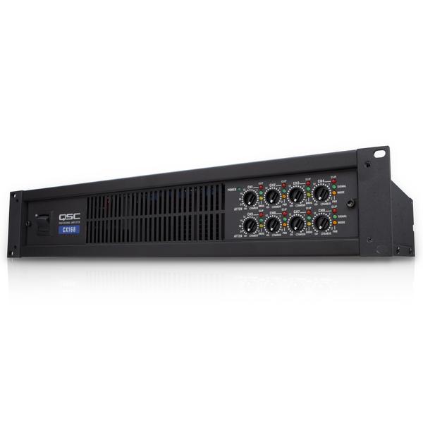 Профессиональный усилитель мощности QSC CX168 усилитель мощности 850 2000 вт 4 ом crown dsi 1000