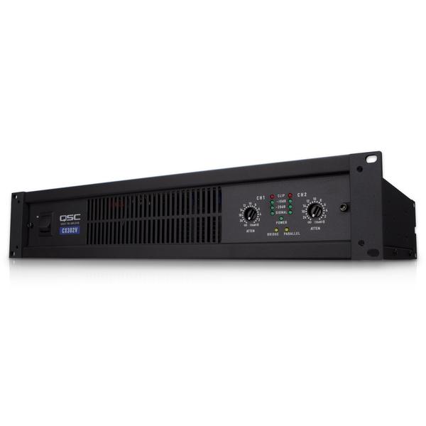 Трансляционный усилитель QSC CX302V усилитель мощности 850 2000 вт 4 ом behringer europower ep4000