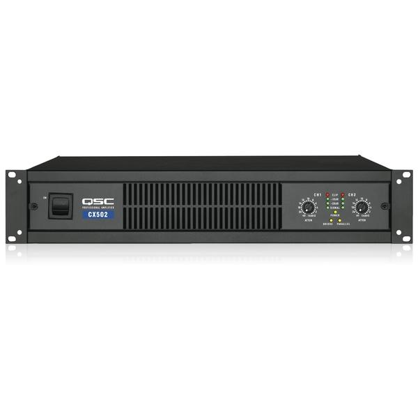 Профессиональный усилитель мощности QSC CX502 профессиональный усилитель мощности eurosound xz 1200