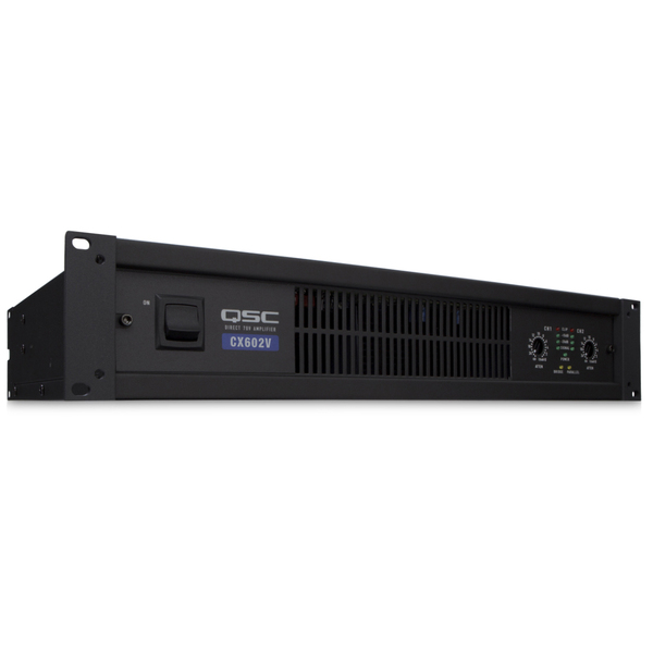 Трансляционный усилитель QSC CX602V усилитель мощности 850 2000 вт 4 ом behringer europower ep4000