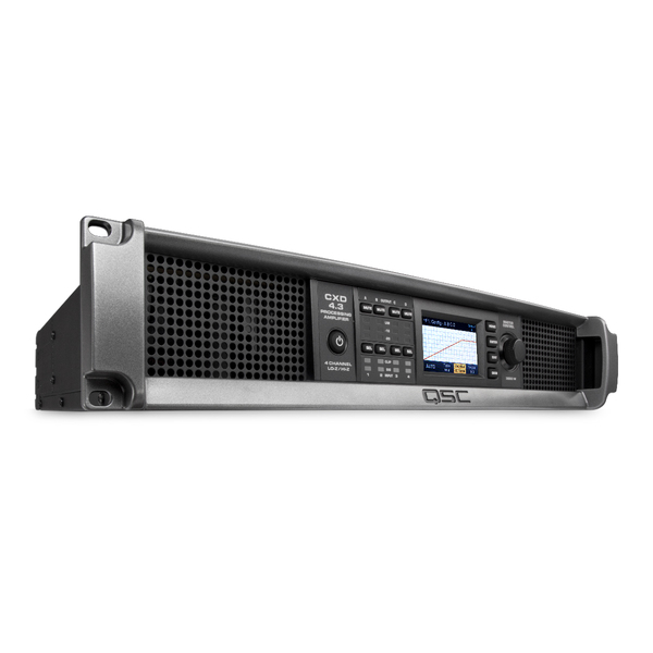 Профессиональный усилитель мощности QSC CXD4.3 профессиональный усилитель мощности eurosound xz 1200
