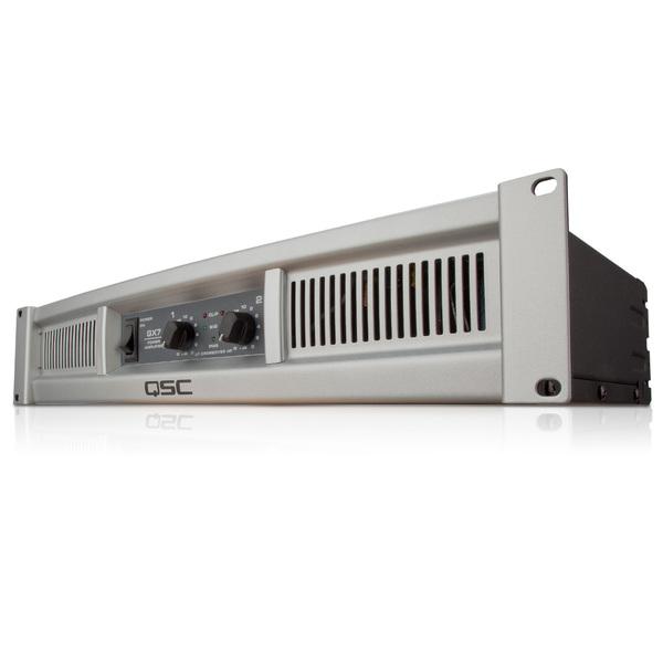 Профессиональный усилитель мощности QSC GX7 профессиональный усилитель мощности eurosound xz 1200