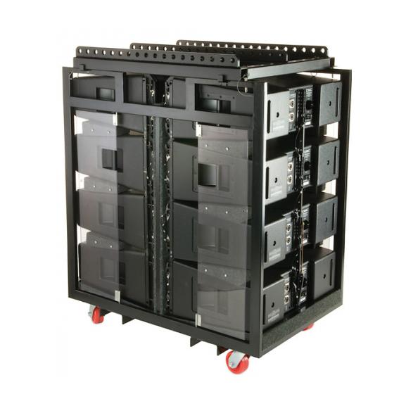 Аксессуар для концертного оборудования QSC Кофр для транспортировки и хранения  WL-8-PACK-RACK qsc k8 tote
