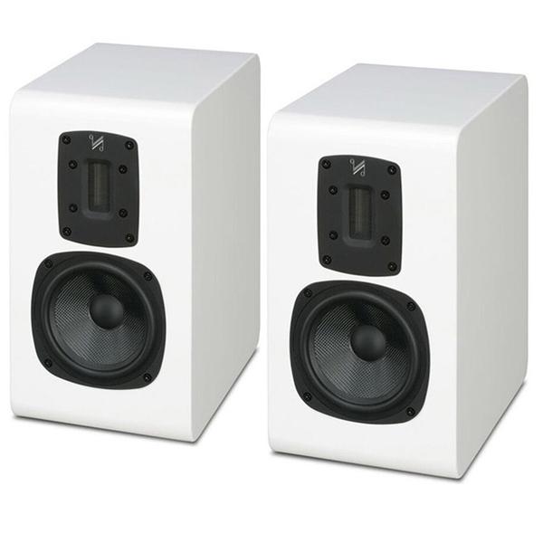 Полочная акустика Quad S-2 Piano White полочная акустика quad z 1 piano white
