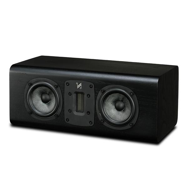 Центральный громкоговоритель Quad S-C Black Oak акустика центрального канала asw opus c 14 dark oak eggshell black