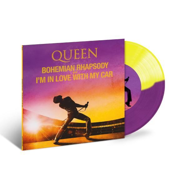 QUEEN QUEEN - Bohemian Rhapsody/ I'm In Love With My Car (7 , Colour)