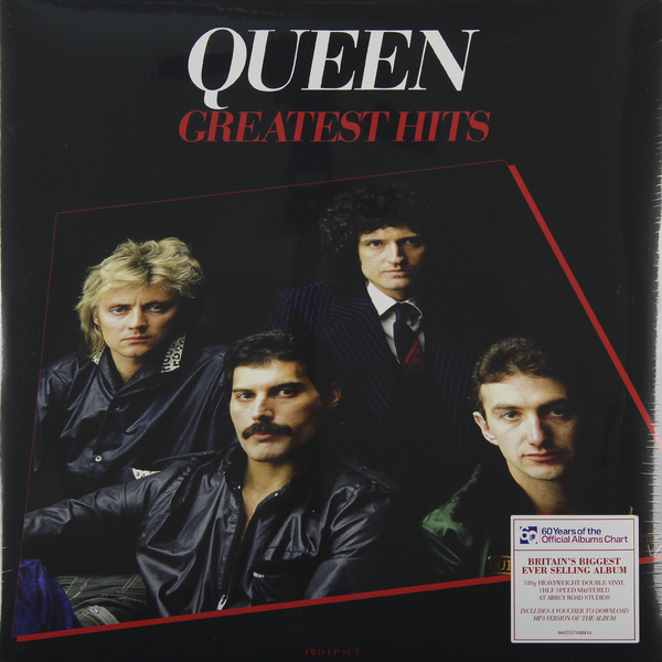 цена QUEEN QUEEN - Greatest Hits (2 LP) онлайн в 2017 году