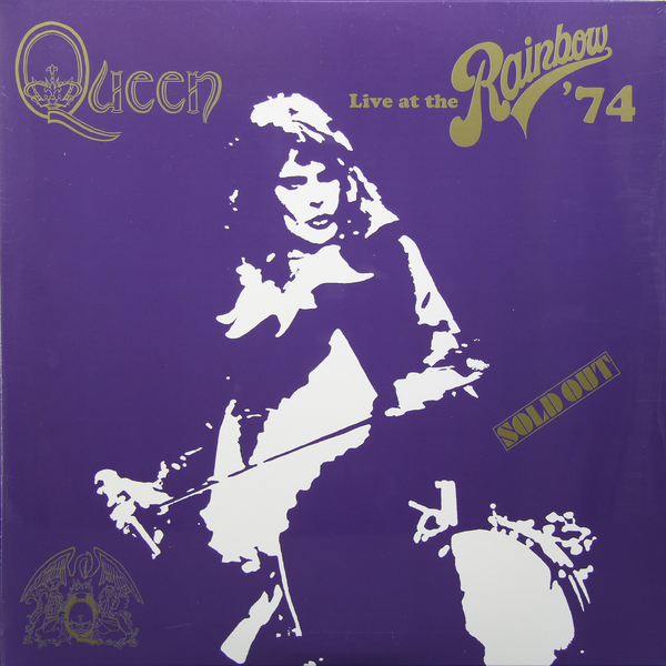 QUEEN QUEEN - Live At Rainbow (2 LP) bryan adams live at slane castle