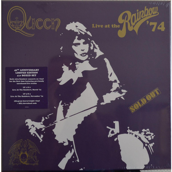 QUEEN QUEEN - Live At The Rainbow (4 Lp Box) 4 color 50cm big folding live fish box thick eva carp rod bucket water tank with handle bags fishing tackle tools accessories
