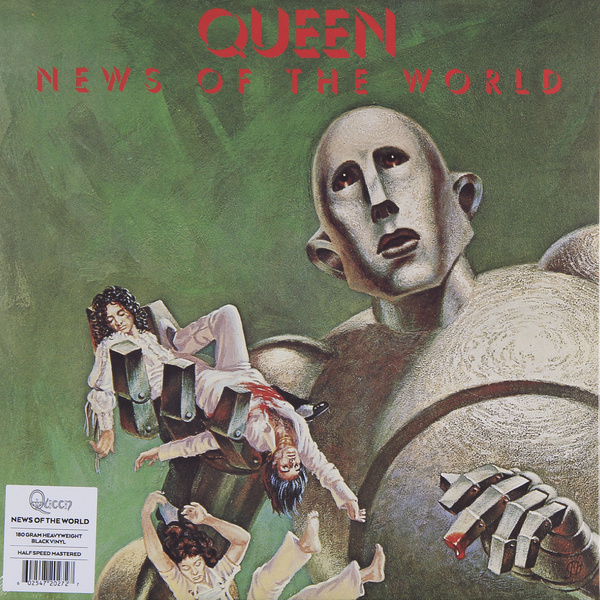 QUEEN QUEEN - News Of The World (180 Gr) scotton james f the world news prism challenges of digital communication