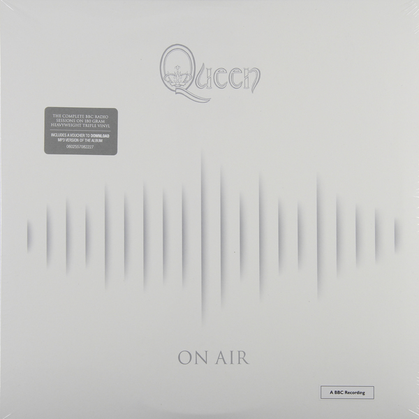 QUEEN QUEEN - On Air (3 Lp, 180 Gr) queen queen on air 2 cd