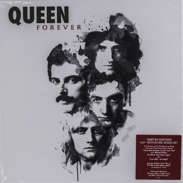 QUEEN QUEEN - Queen Forever (box Set) genco queen