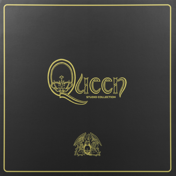 QUEEN QUEEN - Studio Collection (18 Lp Box) майка print bar космонавт