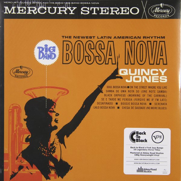 Quincy Jones Quincy Jones - Big Band Bossa Nova (180 Gr) браслеты mr jones jbslbm001