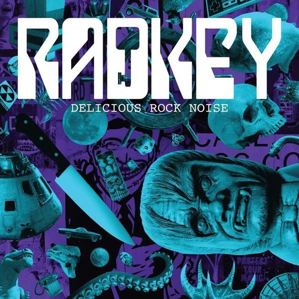 Radkey Radkey - Delicious Rock Noise (lp+cd) lp cd сборник delirium