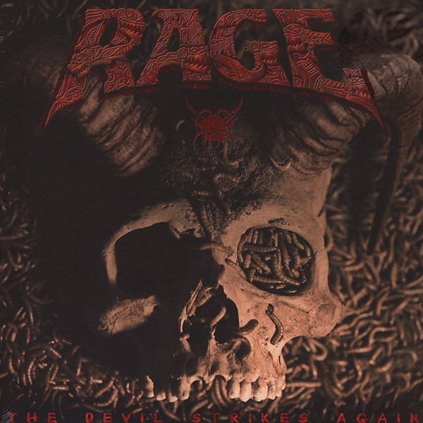 RAGE RAGE - The Devil Strikes Again (2 LP) rage rage the devil strikes again 2 lp colour