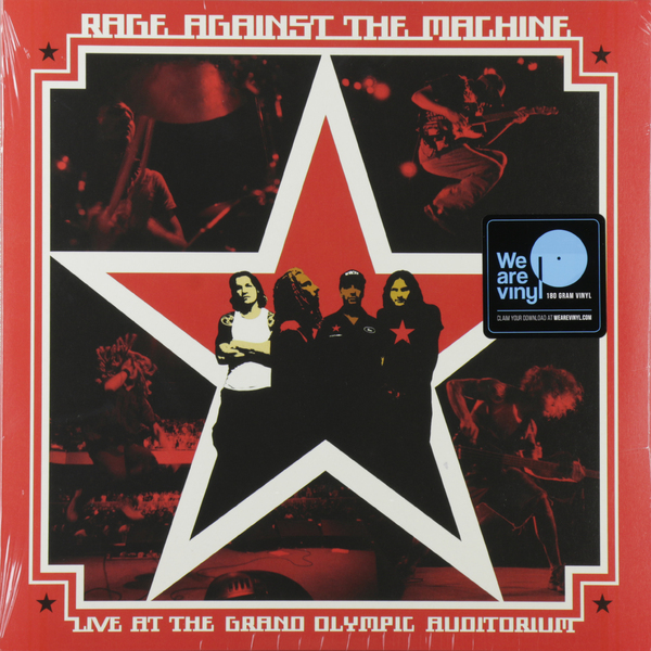 Rage Against The Machine - Live At Grand Olympic Auditorium (2 Lp, 180 Gr)