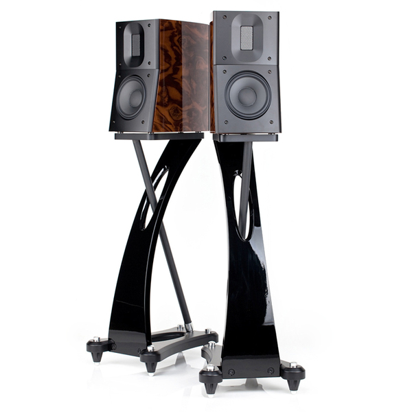 Стойка для акустики Raidho Speaker Stand Black pop metal poster sign paper display advertising stand adjustable h 30to50cm in black surface catophoresis good quality 10 sets