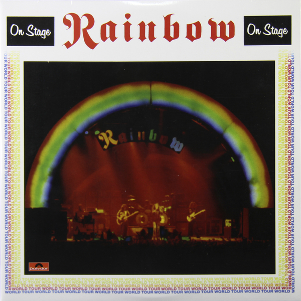 Rainbow Rainbow - On Stage (2 LP) on stage gpb2000 compact pedal board