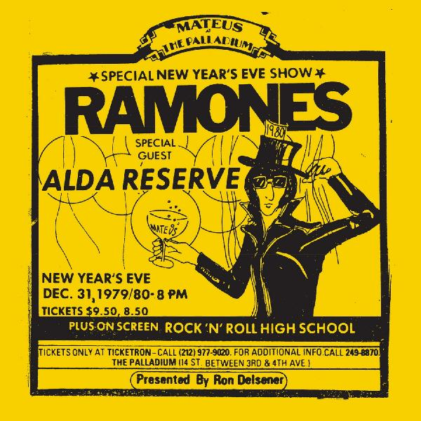 Ramones - Live At The Palladium, New York, Ny (12/31/79) (2 LP)