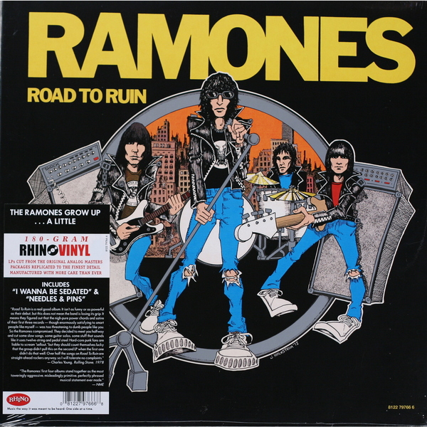 Ramones Ramones - Road To Ruin (180 Gr) ramones chest logo