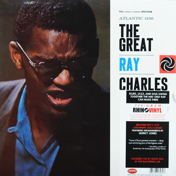 все цены на Ray Charles Ray Charles - Great Ray Charles (180 Gr) онлайн