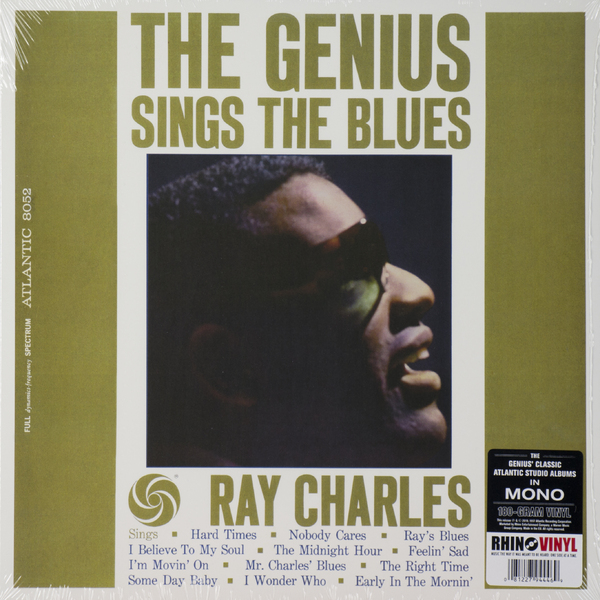 Ray Charles Ray Charles - The Genius Sings The Blues (180 Gr) цена
