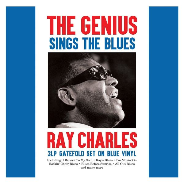 Ray Charles - The Genius Sings Blues (3 Lp, Colour) (уценённый Товар)