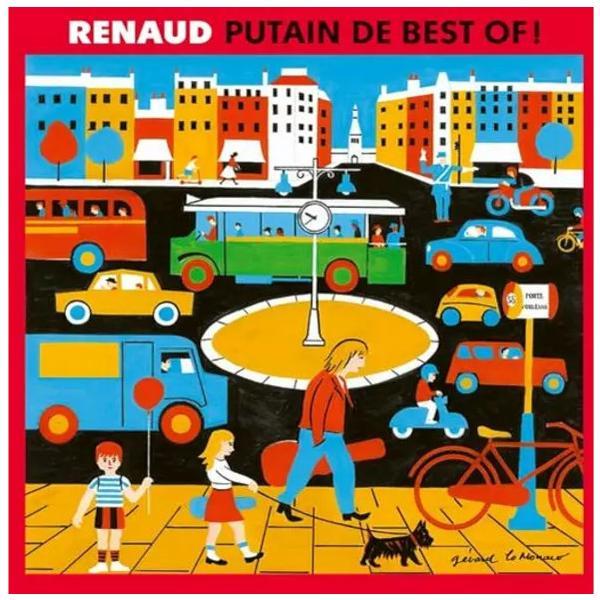 Renaud - Putain De Best Of! 1985-2019 (2 LP)